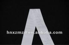 2012 white jacquard elastic band nylon elastic ribbon