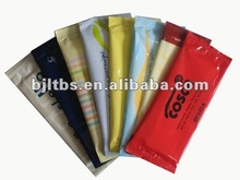 soft single wet towel with fluorescer
