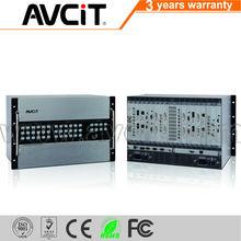 16 in 16 out Audio composite video HDMI matrix switcher