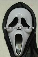 Hot Sale EVA Scary Halloween Screaming Skull Mask