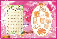 Self-adhesive gem sticker