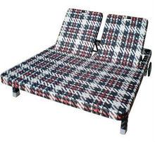 Tess outdoor PE rattan 2 seater Beach Sun lounge bed