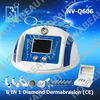 NV-Q606,6 In 1 diamond peeling dermabrasion beauty equipment suit for spa and salon,CE approval.