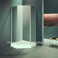 Monalisa Corner Shower Room, Shower Stall, Shower Boxings with Tempered Glass
