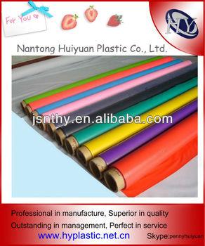Translucent Colored Plastic Film