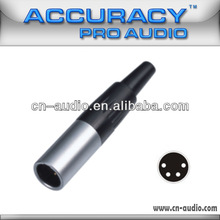 4P Mini male XLR connector XLR064-4