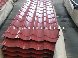 Galvanized corrugated roofing sheet / color steel roofing tile