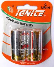 lr14 C size batteries alkaline brand