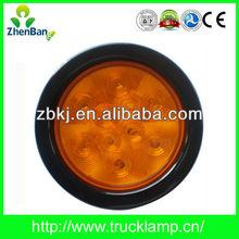 4 inch Round Amber 12/24V LED Truck and Trailer Lights,LED Turn Light