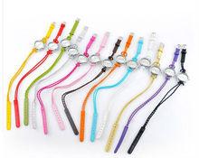 13 colors Hot Korean braid woven bracelet watch