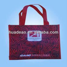 2012 latest long handle non woven shopping bag