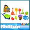 Plastic Beach Toy Set for Kids,Sand Truck,Sand Tools,Sand Molds,Sand Filter, Garden Shower