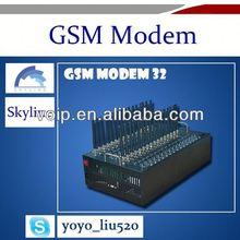 32 port low cost bulk SMS sending modem wavecom module tc35 gsm modem