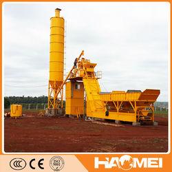 75m3/h Mobile Concrete Batching Plant On Sale