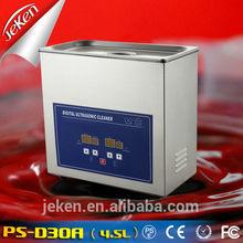 4.5L PS-D30A limpiador ultrasónico / reloj / dientes máquina de limpieza más limpia dental herramientas de laboratorio