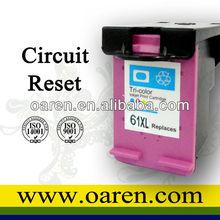 compatible hp 61 ink cartridges C564EE C563EE chip resetter refillable cartridge hp 61 inkjet