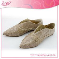 2014 crocodile pattern PU pointy toe men dress shoe