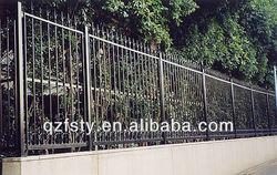 Wrought Galvanized Fence Panel