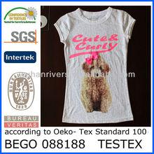 Printing Children T shirt,Wholesale Girls T shirt
