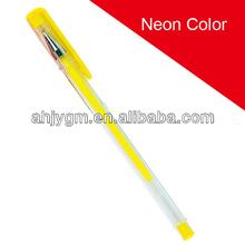 Pastel Color Hot Sale Gel Pen-RH1004/Neon Color Gel Ink