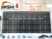 100W mono PV Solar Panel module stock