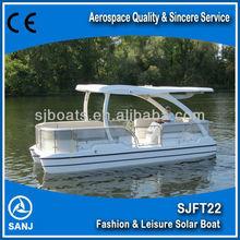 SANJ SJFT22 Environmental Solar pedal boat for sale