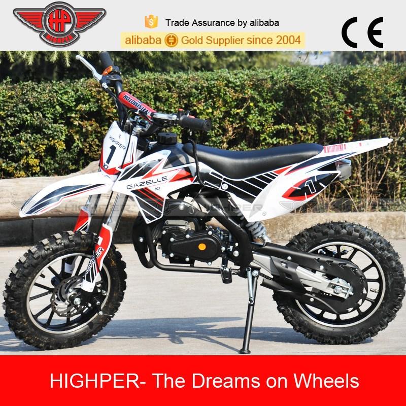 New 49cc 2stroke Mini Dirt Bike for Kids