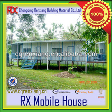 RX Modular Low Cost Applicative Nice Prefabricated House in Kit