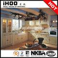 ihoo ak64 estilo americano bloco liso do armário de cozinha em madeira maciça