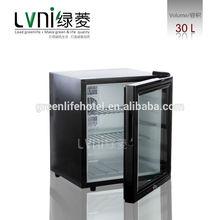 30L home appliance mini fridge compact hotel room refrigerator