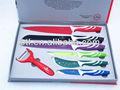 la realeza suizo color antiadherente conjunto cuchillo kn6997