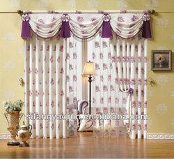 2014 design living room window curtain