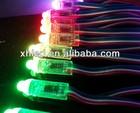 12mm through hole RGB led pixel light (DMX control,DC5V 0.3W)