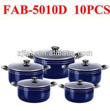 10pcs Aluminum nonstick cookware set