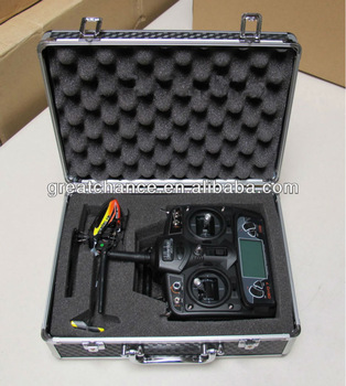 Aluminum Carry Case for Helicopter and Transmitter