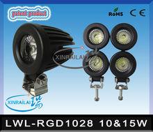 10W or 15W each RGD1028 Instensity high lumen LED working Lamp waterproof IP68