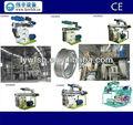 Ce 1TPH alimentación animal línea de producción de pellets, Vaca / alimentación del ganado máquinas, Chinken alimentación del molino de pellets