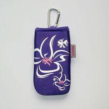 fashion design mobile neck strap bag in low price