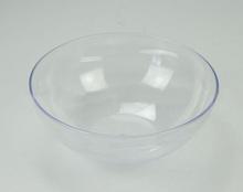 plastic transparent bowl