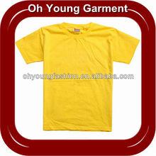 2013 plain t-shirt manufacturer custom 100% cotton assorted colour fashion unisex blank plain t-shirt