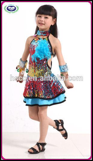 De los niños traje de la danza de la navidad traje de la danza latina