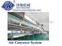 SPC1000-72000bph Air Conveyor system for PET empty bottle