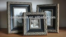 solid wooden photo frame, gesso finished, 100% direct manufacturer