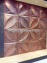 China embossed stainless steel sheet decorative metal sheets factory SUS201 304