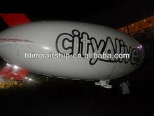 FZ60E indoor and outdoor electric blimp,advertising dirigible,advertising zeppelin