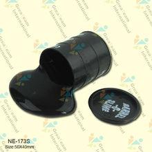 yiwu toys,barrel slime,black barrel oil slime