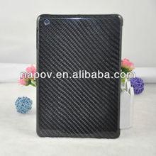For ipad mini , 100% real carbon fiber back cover for ipad mini