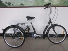 24 Trike / Three Wheel Bike/ Tricycle / Cargo Bike with TX30 6 Speed