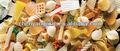 Parafusos/shell/cornetas batatasfritas que faz a máquina