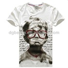2012 korea top design plain blank boys printed t shirt cheap custom printed t shirts